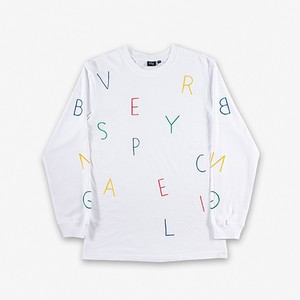 BEN-G - Ben-G Letter Ballet LS T-Shirt (White)