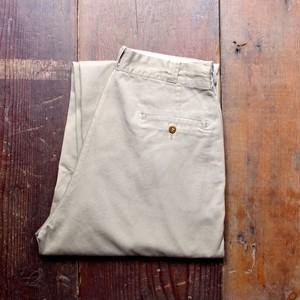 1950s US ARMY Cotton Khaki Trousers / 50年代 米軍 ボタンフライ ミリタリー チノパン