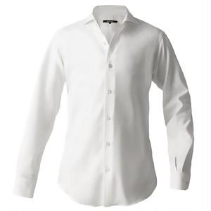 DJS-787 decollouomo メンズドレスシャツ 長袖 overture - ピュアホワイト