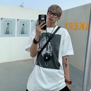 ★UNISEX アインシュタインTシャツ (White,Black) 88