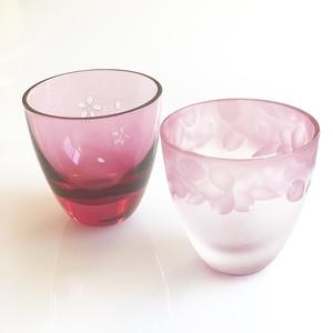 さくら花冠 ペアぐいのみ おちょこ(sakura sake cups)