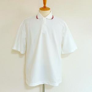 Over Size Polo Shirts White