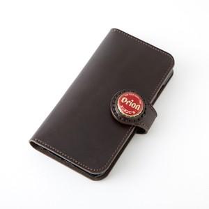 ボトルキャップコンチョ手帳型iphoneレザーケース オリオンビール iphone7plus iphone6s plus iphone6plus兼用