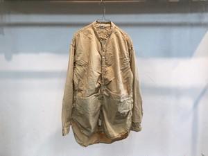 "TENDER Co.""type483 Long Sleeve Tesseract Shirt Lawn (Fawn Logwood)"""