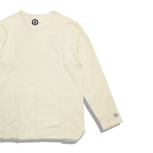 [ feel so easy good things for relaxing ] Organic Cotton Ripple Crew (OR-001)