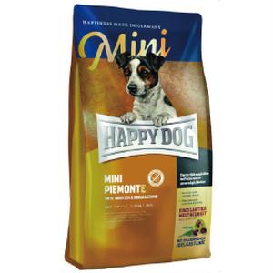 獣医師推薦  HAPPY DOG ハッピードッグ ミニ ピエモンテ(栗、ダック&シーフィッシュ)グレインフリー 1kg
