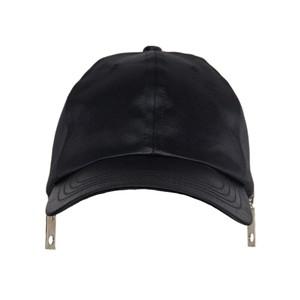 Baseball Zip Cap(Black)
