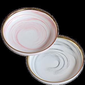 Marble deep dish / 大理石 パスタプレート 20cm【1219143】