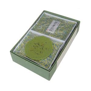 茶の葉煎餅 24枚16袋入り