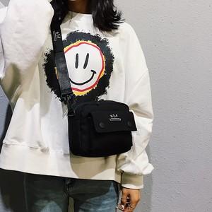 【バッグ】韓国系アルファベットシンプルファッション文芸スタイルカジュアル帆布バッグ