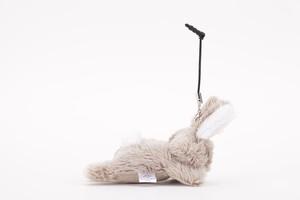 マスコット型スマホチャーム&クリーナー ウサギ