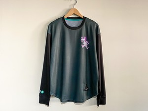STAMP RUN&CO(スタンプランアンドコー)STAMP LONG SLEEVE TEE (NIGHT TRAIL)ユニセックスロングTシャツ
