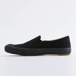 SHELLCAP SLIPON-KURO×BLACK