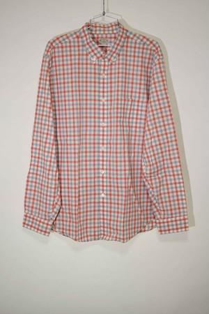 【XLサイズ】 J.CREW  ジェイクルー LIGHT WEIGHT CHECK SHIRTS 長袖シャツ RED レッド