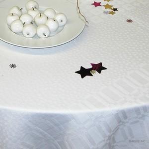 テーブルクロス ヨーコ(ホワイト)170x170cm