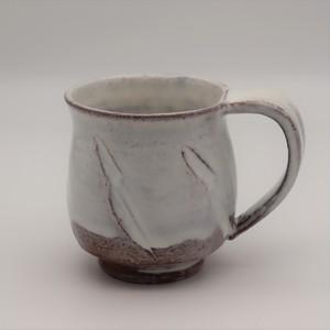 藁灰釉 マグカップ(邑華)