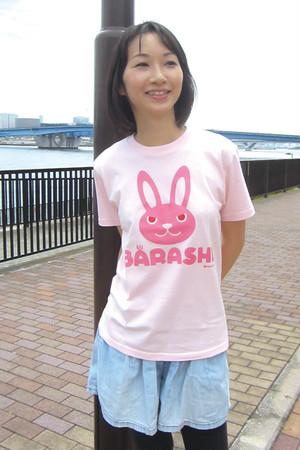 ウサバラシ 大人半袖Tシャツ 親子おそろいTシャツ