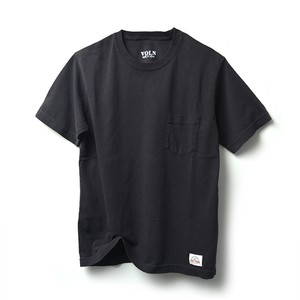 VOLN × CRAFTSMAN CREW NECK POCKET T-SHIRT(BLACK)