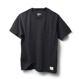 VOLN × CRAFTSMAN CREW NECK POCKET T-SHIRT(BLACK)