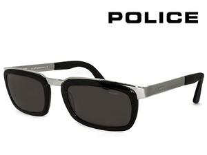 ポリス ヴィンテージ サングラス 2413-700 police レトロ 訳あり メンズ バネ蝶番 コンビネーション UVカット