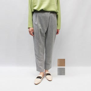 [SALE] OUTERSUNSET(アウターサンセット) wool wrap tapered pants 2020秋冬物新作[送料無料]