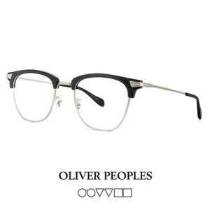 日本製 オリバーピープルズ OLIVER PEOPLES メガネ banks mbkbc BANKS ブロー サーモント スクエア ウェリントン 眼鏡 黒縁