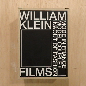 【DVD】WILLIAM KLEIN FILMS/WILLIAM KLEIN(ウィリアム・クライン)