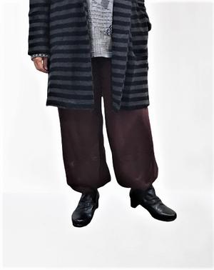 バルーン型サルエルパンツ【284-6144】