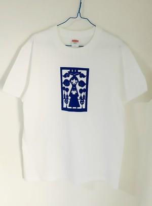 松田圭一郎 シルクスクリーンTシャツM 収穫