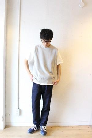 STILL BY HAND(スティル バイ ハンド) / Cotton Linen Denim Pants(コットンリネン デニムパンツ)ワンウォッシュ