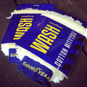 GOODYEAR!! COTTON MITT