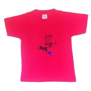 110cm キッズTシャツ ピンク