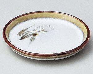 【半額セール】白天目麦3.5皿【美濃焼】