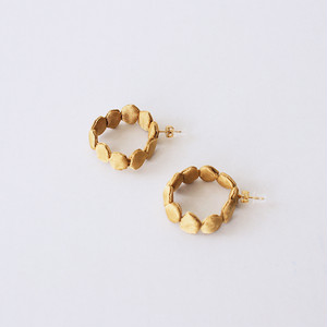 dots10( hoop )/ gold