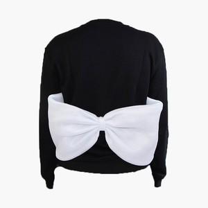 RIMI&Co.SELECT 背中リボン スウェットトップス<Back Bow Sweatshirt>