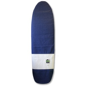 SurfBoard Case 6`6 With GREEN FUZ