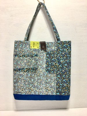 tote bag/ヴィンテージ 小花柄のトートバッグ    ■tf-312