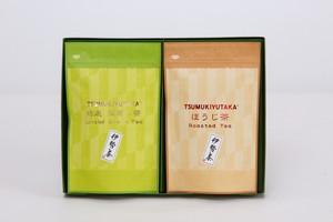 12 特選深蒸し茶ティーバッグ5g×12個  ほうじ茶ティーバック5g×12個