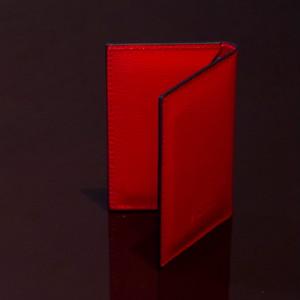 LIVERPOOL RED / PINETTI DOUBLE BUISINESS CARD HOLDER CREAM(リバプール レッド / ピネッティ ダブルビジネスカードホルダー)