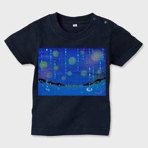 「つゆの雨粒」キッズTシャツ