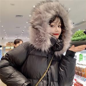 【アウター】韓国系秋冬カジュアルフード付き厚い保温アウター