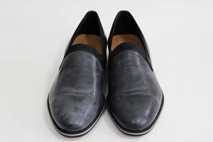 oilsteer slip‐on shoes/BK/LIBERTAS【受注生産】