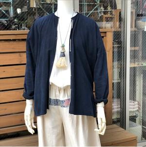 ラオスの藍染ジャケット