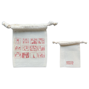 S size(red) window pouch