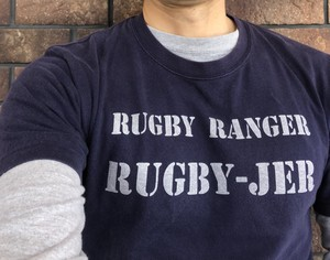RUGBY RANGER RUGBY-JER Tシャツメンズ(ネイビー)