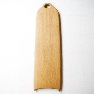 カッティングボード Lロング (ナラの木) エゴマ油仕上げ (47.5×14)