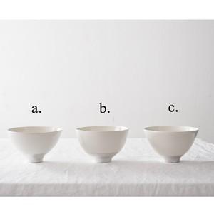 オノエコウタ Kota Onoe  白中銀抹茶碗