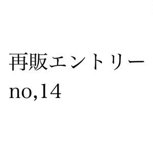 再販エントリー no,14