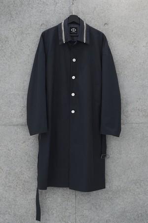 Single Trench Coat [Black]