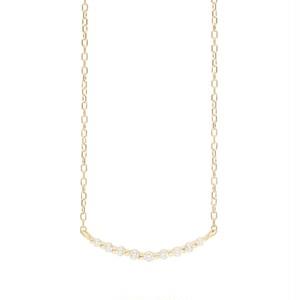 K10 ダイヤモンド 0.10ct ネックレス